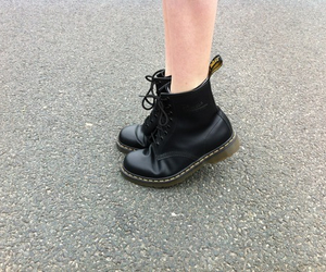 boots, grunge, and shoes image