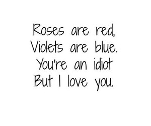 rose, love, and quote image