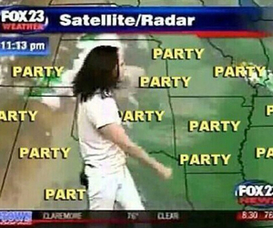 party, funny, and weather image