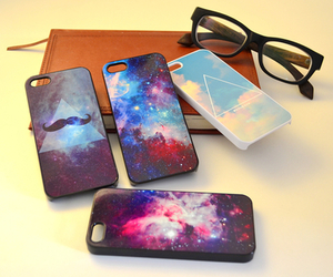 case, galaxy, and iphone image