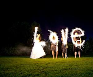 love, light, and firework image