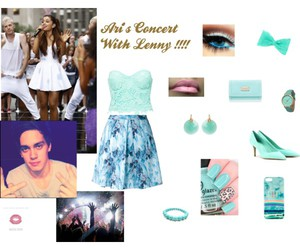 concert, Polyvore, and ariana grande image