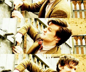 doctor who, matt smith, and the doctor image