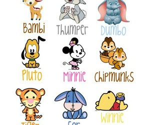 disney, bambi, and pluto image