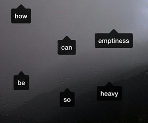 sad, emptiness, and grunge image