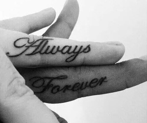 love, forever, and always image