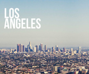 los angeles, city, and la image