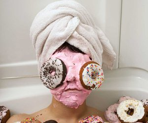 donuts, food, and funny image