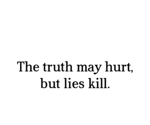 lies, truth, and kill image