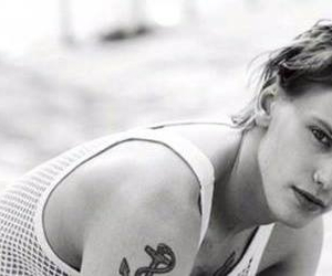black & white, boy, and Jamie Campbell Bower image