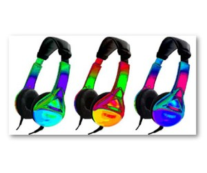 beat, colorful, and headphones image