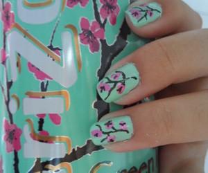 nails, arizona, and flowers image