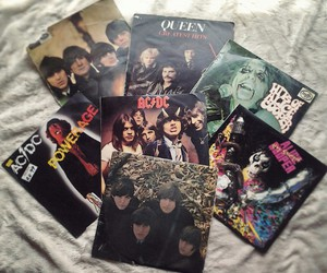ACDC, rock n roll, and the beatles image