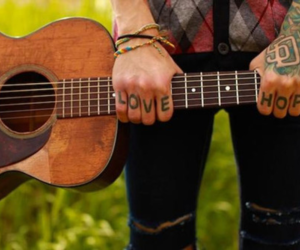 guitar, love, and hope image