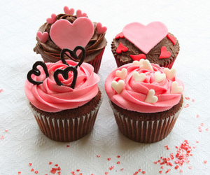candy, cookie, and cupcakes image