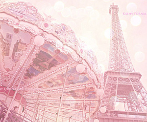 pink, paris, and photography image