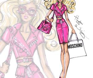 barbie, hayden williams, and Moschino image