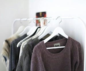 autumn, fashion, and pullover image