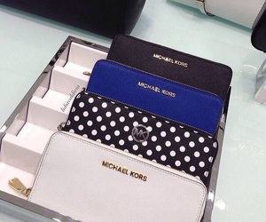 Michael Kors and wallet image