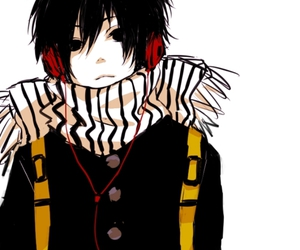 anime, boy, and headphones image