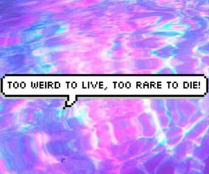 weird, quote, and grunge image