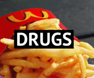 drugs, food, and nutella image