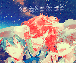 starry sky and ~l♥♥♥ image