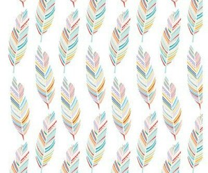 wallpaper, colors, and feather image