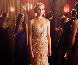 dress, tvd, and candice accola image