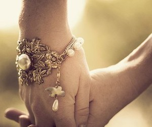 beautiful, bracelet, and charm image