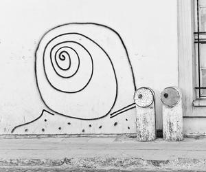 Lithuania, snail, and street art image