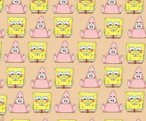 wallpaper, spongebob, and patrick image
