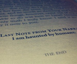 haunted, the end, and book thief image