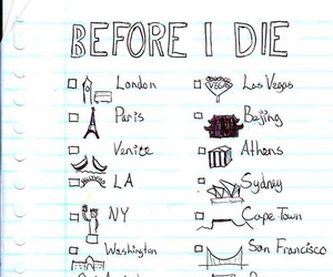 paris, london, and travel image