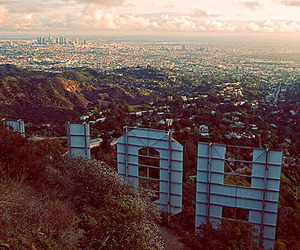 hollywood, city, and los angeles image