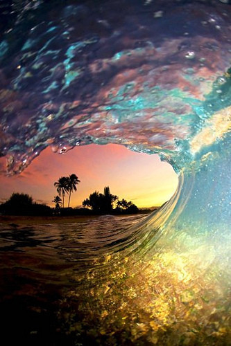 waves, summer, and beach image