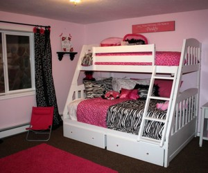 pink, cute, and bedroom image