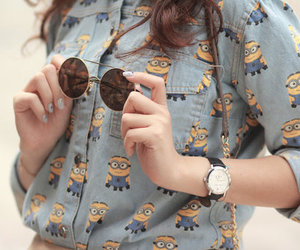 minions, fashion, and style image