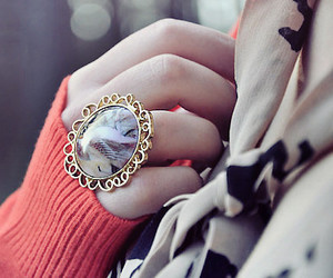 fashion, ring, and vintage image