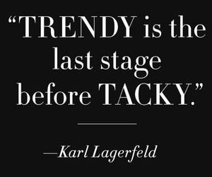 quote and karl lagerfeld image