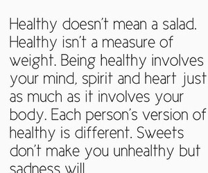 beauty, quote, and healthy image
