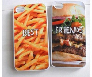 food, best friends, and iphone image