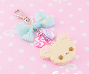 accessory, bear, and biscuit image