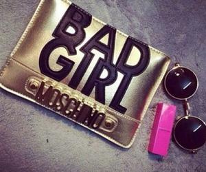 Moschino, bad girl, and bag image