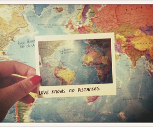 love, distance, and world image