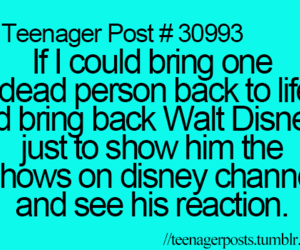 funny, teenager post, and disney image