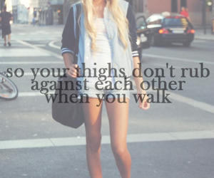 thighs and thinspo image