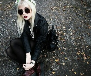 hipster, beautiful, and fashion image