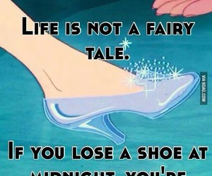 cinderella, drunk, and fairy tale image