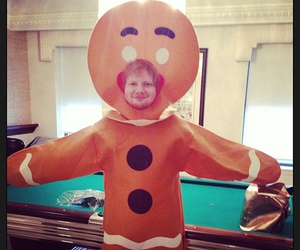 ed sheeran, Halloween, and ed image